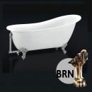 BelBagno Ванна акриловая 170x76 BB06-1700-BRN
