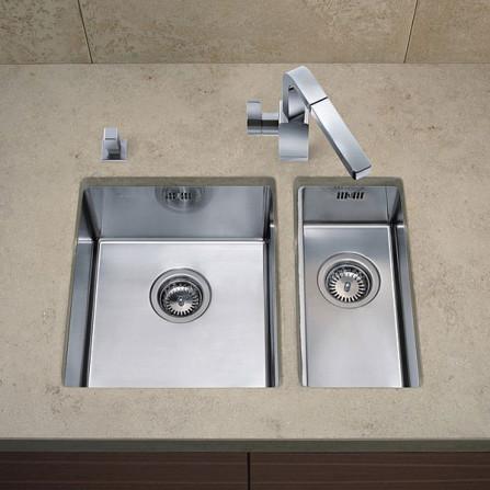 Blanco Claron 340/180-U Мойка чаша справа 521610 сталь зеркальная