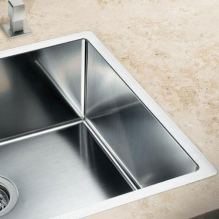Blanco Claron 400-IF Мойка 521572 сталь зеркальная