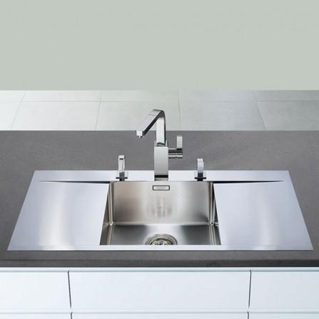 Blanco Flow 5 S-IF Мойка 521637 сталь зеркальная