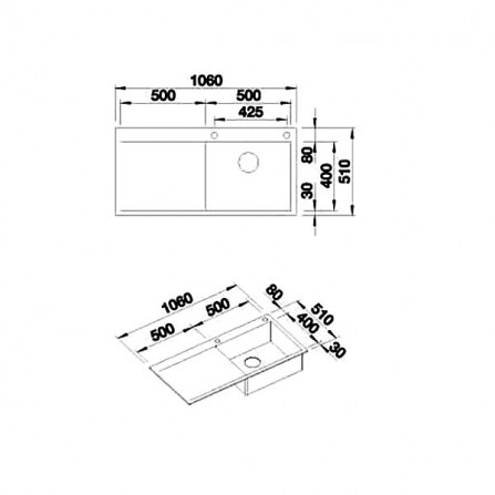 Blanco Flow XL 6 S-IF Мойка 521640 сталь зеркальная