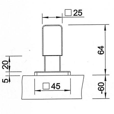 Blanco Levos Ручка управления клапаном-авоматом 221940