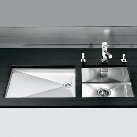 Blanco Zerox 340-U Мойка 521583 сталь зеркальная
