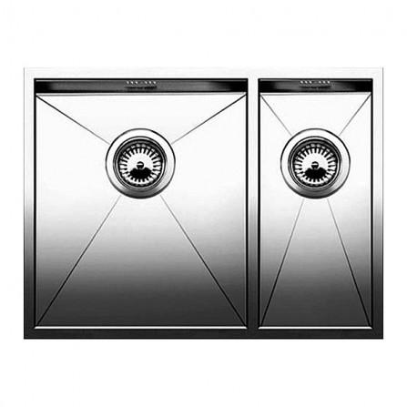 Blanco Zerox 340/180-U Мойка чаша слева 521613 сталь зеркальная