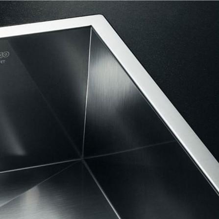Blanco Zerox 400-IF Мойка 521584 сталь зеркальная