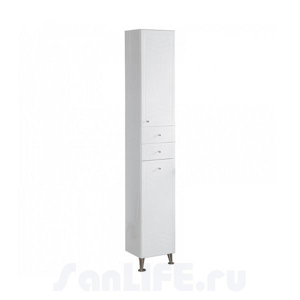 Акватон Домус Пенал правый белый 1A122003DO01R