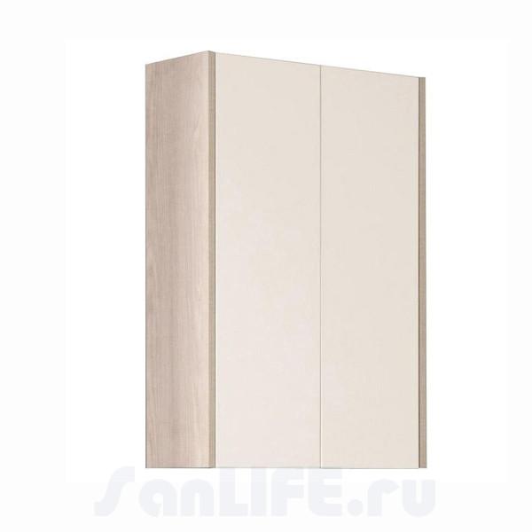 Акватон Йорк Шкаф двустворчатый белый/ясень фабрик 1A171303YOAV0
