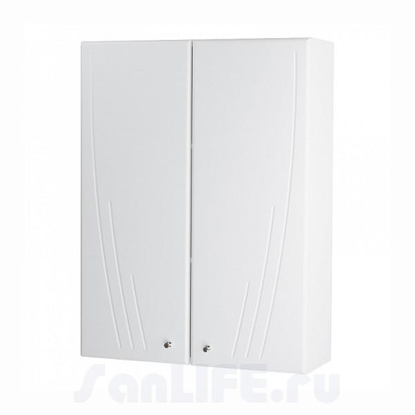 Акватон Минима Шкаф двустворчатый белый 1A001703MN010