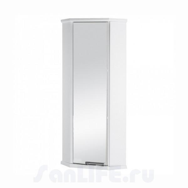Акватон Призма-М Шкаф угловой правый белый 1A004203PZ01R