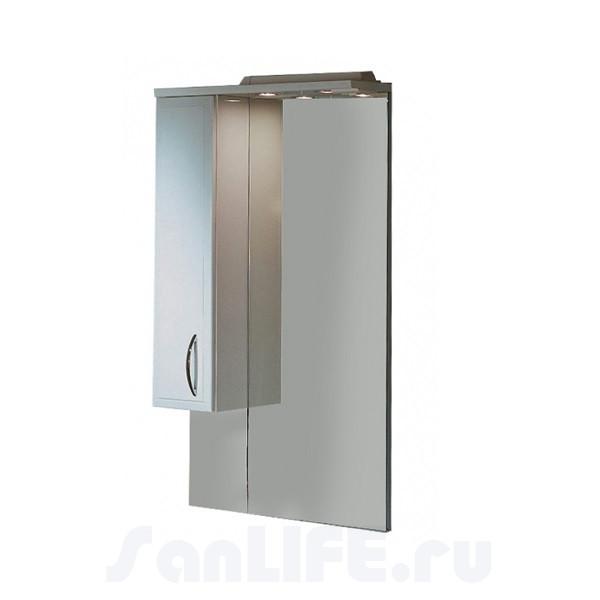 Акватон Марсия 67 Зеркало со шкафчиком левое 1A007502MS01L