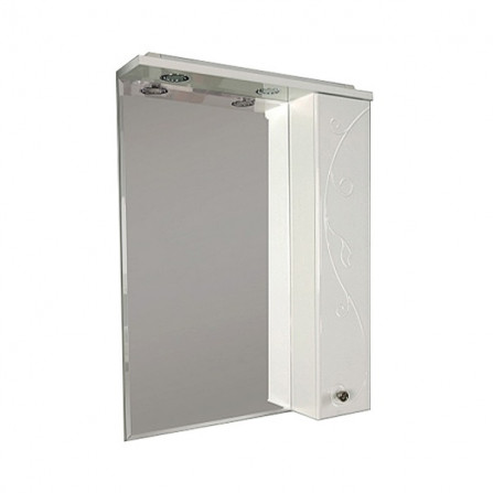 Акватон Лиана 60 Зеркало со шкафчиком правое 1A162702LL01R