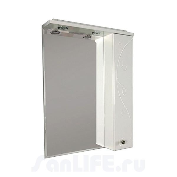 Акватон Лиана 65 Зеркало со шкафчиком правое 1A166202LL01R