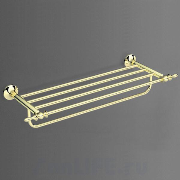 Art&Max Bohemia Полка для полотенец золото AM-4222-Do