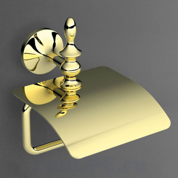 Art&Max Bohemia Бумагодержатель с крышкой золото AM-4283-Do