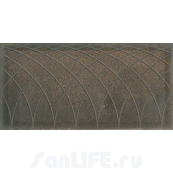 Atlantic Tiles Serra Curves Oxide Brown 45х90