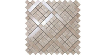 Atlas Concorde Marvel Travertino Silver Diagonal Mosaic 30,5х30,5
