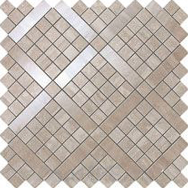 Atlas Concorde Marvel Travertino Silver Diagonal Mosaic 30,5х30,5