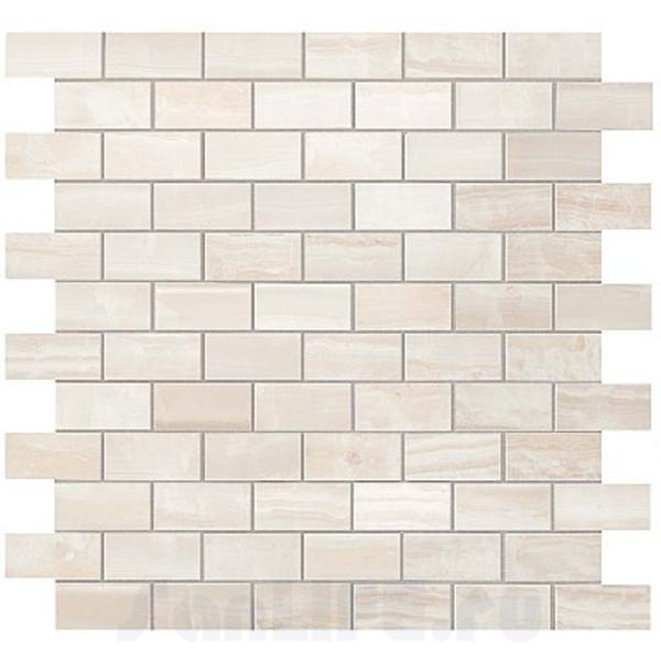 Atlas Concorde rus S.O. Pure White Brick Mosaic / С.О. Пьюр Вайт Брик Мозаика