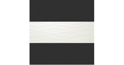 Baldocer Blancos Decor Nami Blanco Brillo 28x85 Плитка настенная