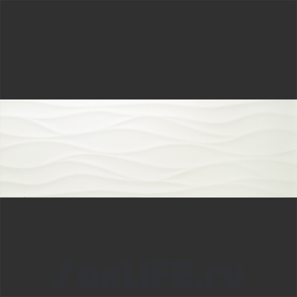 Baldocer Blancos Decor Nami Blanco Brillo 28x85 Плитка настенная