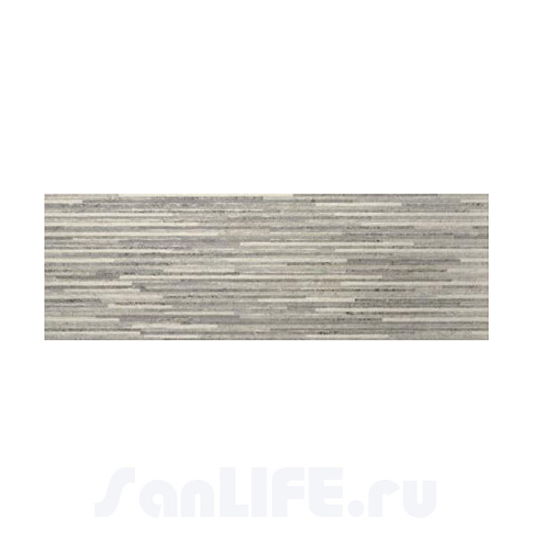 Baldocer Concrete Pearl&Grey Decor Lamas Concrete Grey 28x85 Плитка настенная