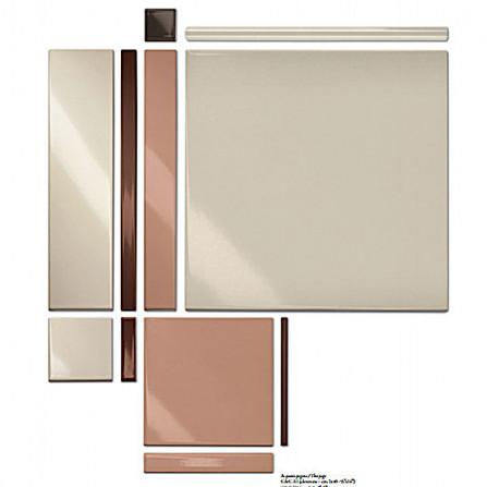 Bardelli Colore&Colore Настенная плитка 20х20 см C&C A1