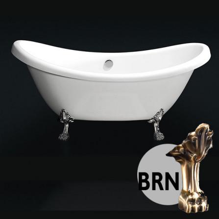 BelBagno BB05 Ванна акриловая 182x75 BRN