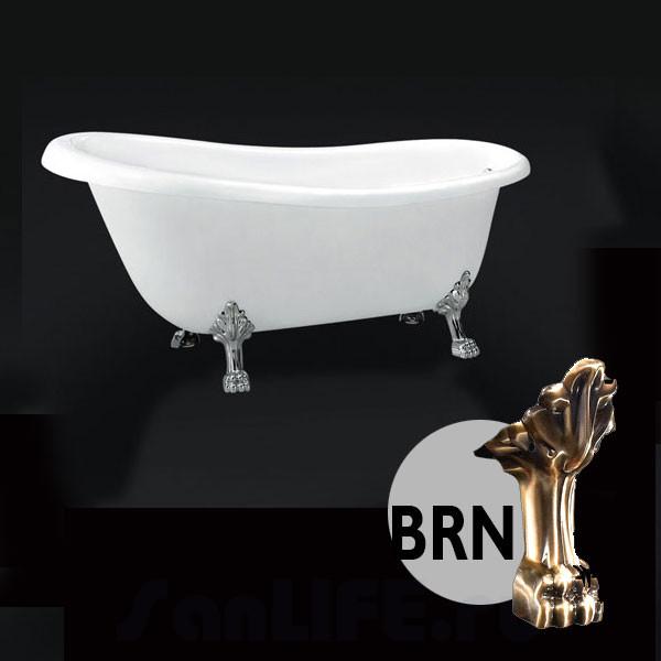 BelBagno BB04 Ванна акриловая 170x80 BRN