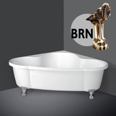BelBagno BB07 Ванна акриловая 150х150 BRN*