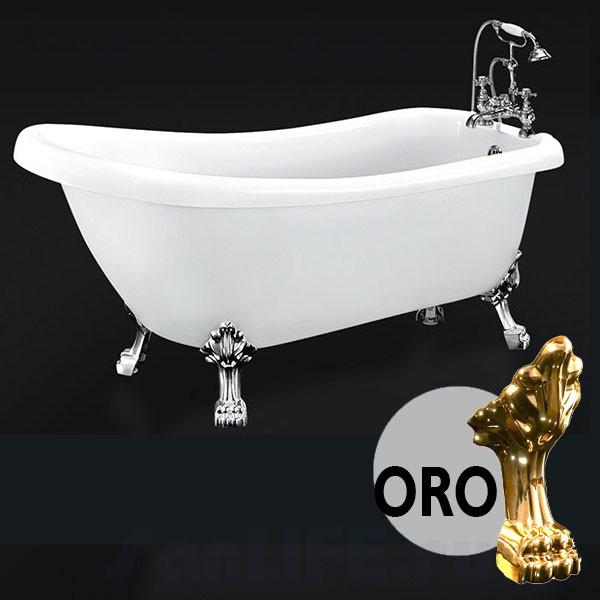 BelBagno BB20-1700 Ванна акриловая 170x73 BB20-ORO