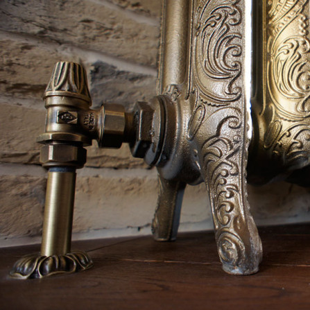 Carlo Poletti Artistic Вентиль нижний угловой бронза V67410MA