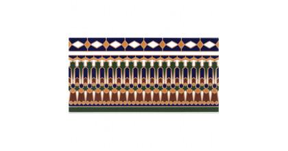 Cas Ceramica Amman Cenefa 14x28 Плитка настенная