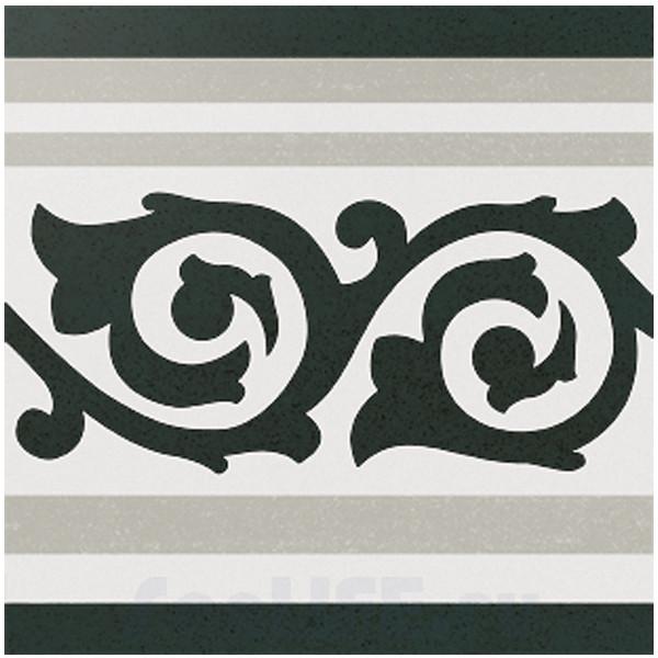 Cas Ceramica Anastasia Border Grey 20x20 Плитка напольная