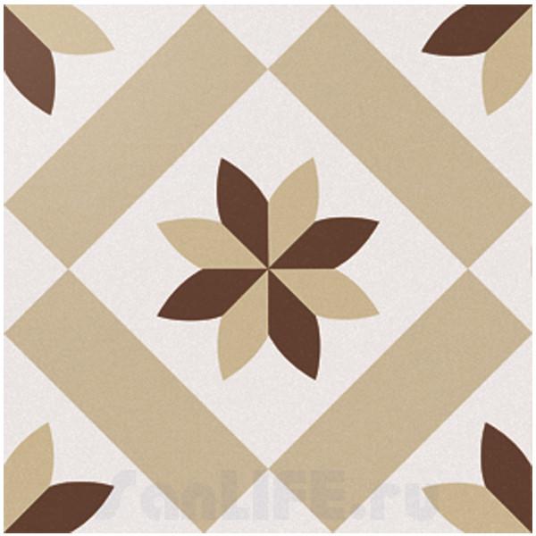 Cas Ceramica Anastasia Brown 20x20 Плитка напольная