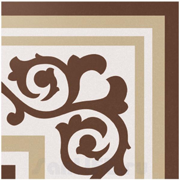 Cas Ceramica Anastasia Corner Brown 20x20 Плитка напольная