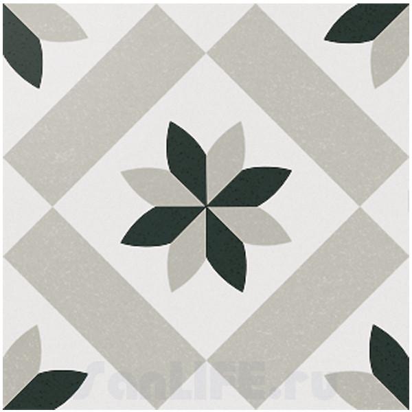 Cas Ceramica Anastasia Grey 20x20 Плитка напольная