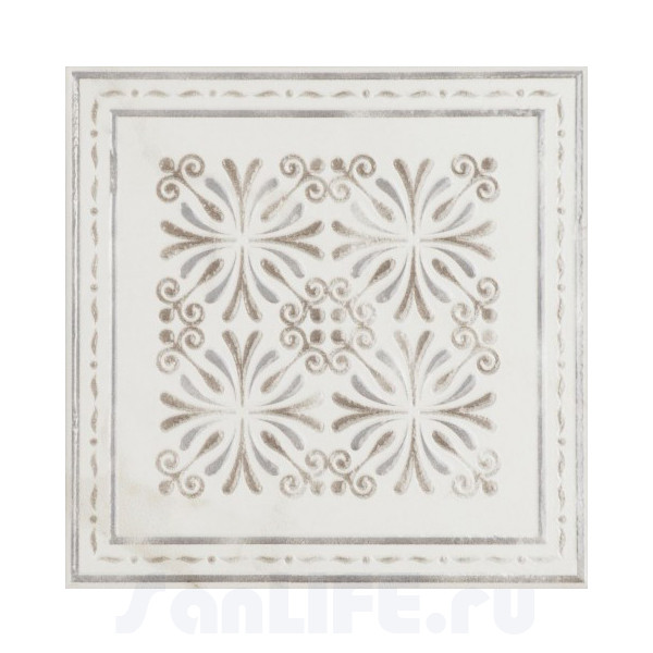 Cas Ceramica Ethernal Decor White 15x15 Плитка настенная