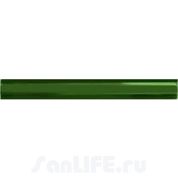 Cas Ceramica Tira Relieve Verde 3x28 Бордюр
