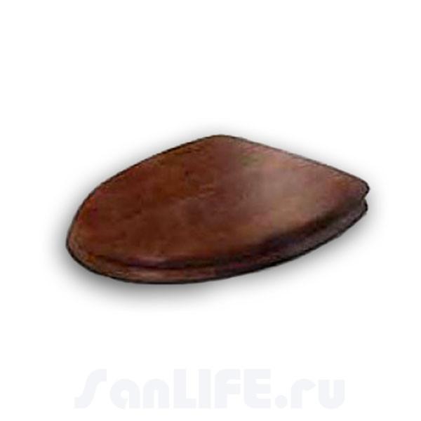 Cezares Primo Сиденье с крышкой микролифт орех,бронза