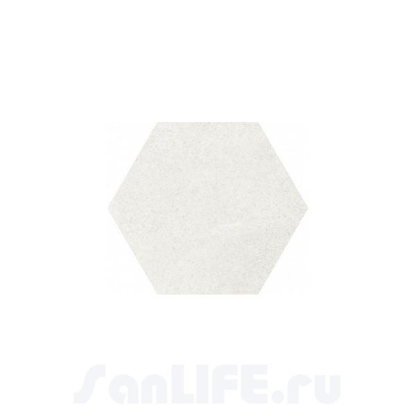 Equipe Hexatile Cement White 17,5x20