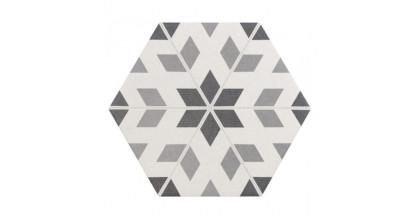 Equipe Hexatile Harmony B&W 17,5x20