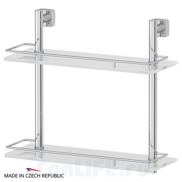 FBS Esperado ESP-063 Полка с ограничителем 40 см двойная (стекло)