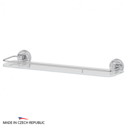 FBS Luxia LUX-015 Полка с ограничителем 50 см (стекло)