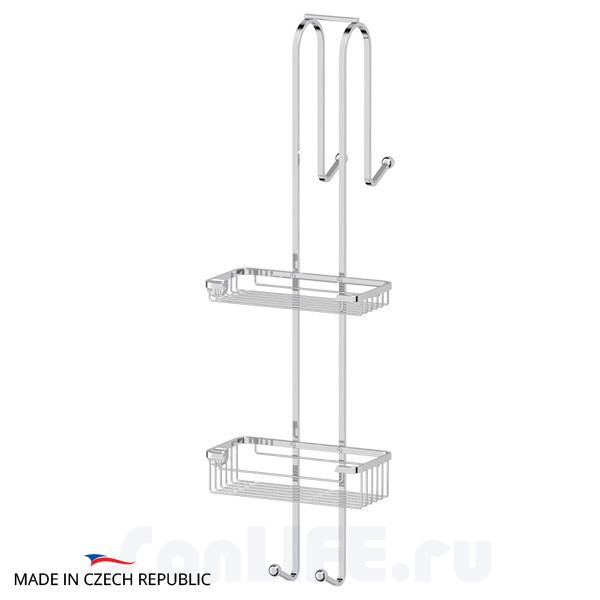 FBS Ryna RYN-028 Штанга с полочками-решетками для душевой кабины