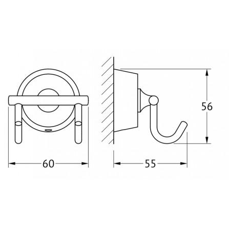 FBS Vizovice VIZ-002 Крючок двойной