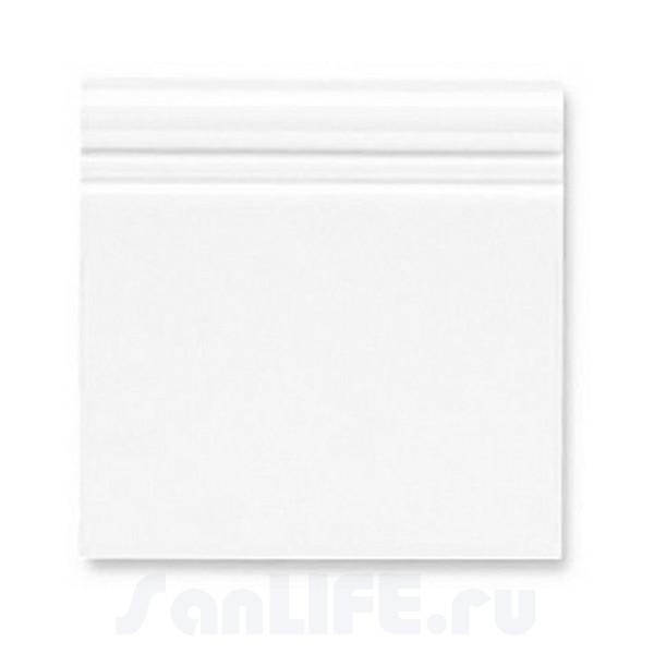 Ceramiche Grazia Boiserie Zoccolo 20X20 Bianco matt