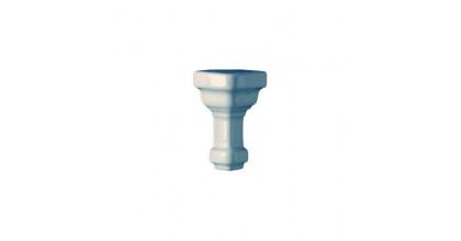 Ceramiche Grazia Essenze Angolo Est Parete Capitello 7,5X3 Genziana