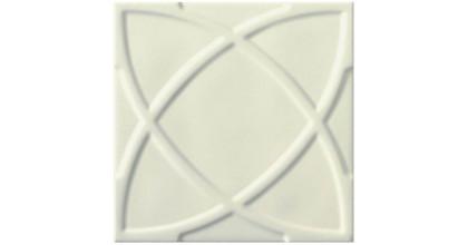 Ceramiche Grazia Vintage 20X20 Circle Ivory