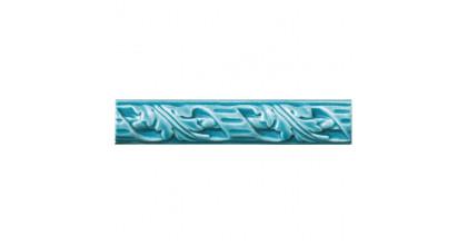 Ceramiche Grazia Amarcord Fregi M. 4X20 Pavone matt