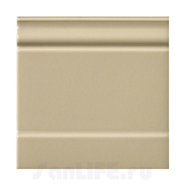 Ceramiche Grazia Amarcord 20X20 Zoccolo Dark Tabacco matt